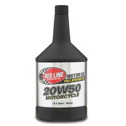 Huile Moteur Redline High Performance Motorcycle Oil 20W50