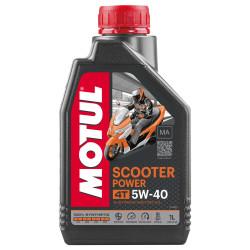 Huile Moteur Motul Scooter Power 4T 5W40 MA