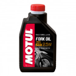 Fluide Hydraulique Motul Fork Oil Factory Line Very Light 2,5W