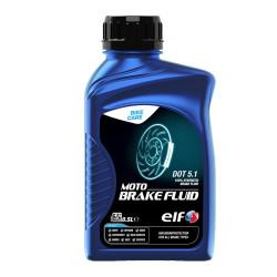 Liquide de Frein Elf Moto Brake Fluid DOT5.1