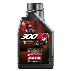 Huile Moteur Motul 300V ² Factory Line 10W50 4T