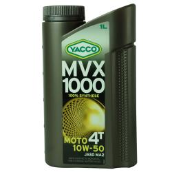 Huile Moteur Yacco MVX 1000 4T 10W50