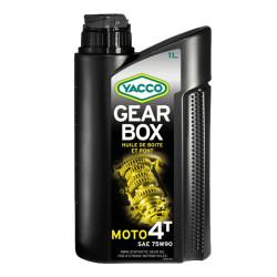 Huile de Boîte Yacco Gearbox 4T 75W90