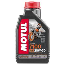Huile moteur Motul 7100 20W50 4T